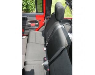 Housse de sièges arrière Néoprène Jeep JK 4 portes noir