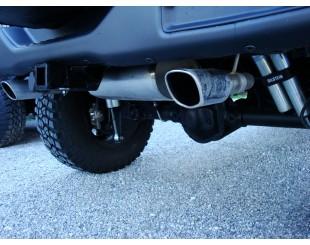 Echappement BORLA inox Jeep JK  double sortie