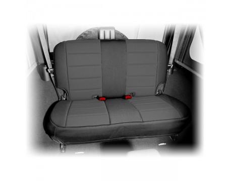 Housse de sièges arrière Néoprène Jeep JK noir