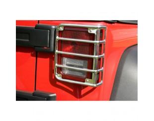 Grille de feux arrière Jeep JK RR Chrome