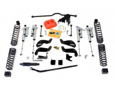 """Kit suspension AEV 4.5"""" Dualsport Bilstein avec réservoir JK 2 portes"""