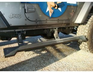 Kit Marche pied électrique E board Jeep Wrangler 2 portes