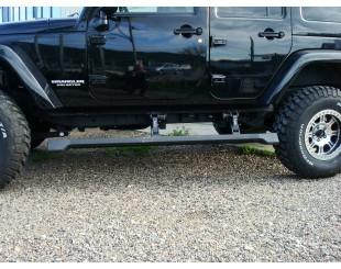 Kit Marche pied électrique E board jeep wrangler 4 portes