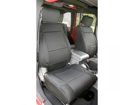 Housse de sièges avant Jeep JK 2007-2010  Noir