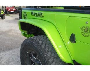 Kit Extension Aile Arrieres Poison Spyder JK Aluminium