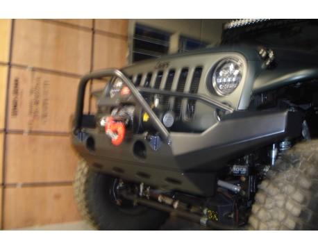 pare chocs avant poison spyder mod long jk parts jeep. Black Bedroom Furniture Sets. Home Design Ideas