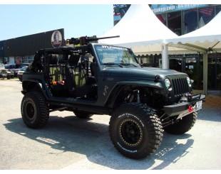 Jante Beadlock RACELINE Jeep JK Black alu 8.5 x 17
