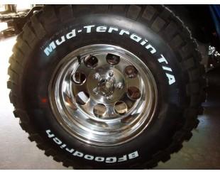 Jante Alu poli Serie 69 Jeep CJ YJ TJ  8 x15