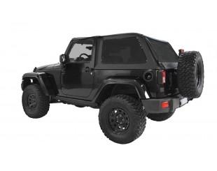 Ultimate fast back top Jeep JK 2 portes - Noir