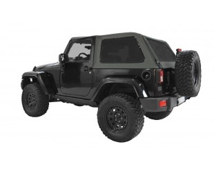 Ultimate fast back top Jeep JK 2 portes - Gris