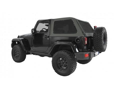 Ultimate fast back top Jeep JK 2 portes - Gris