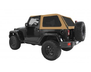 Ultimate fast back top Jeep JK 2 portes - Military green