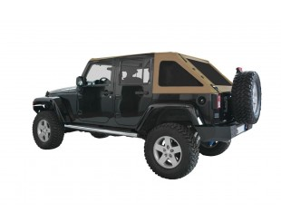 Ultimate fast back top Jeep JK 4 portes - Sable