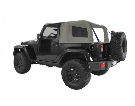 Ultimate cargo top Jeep JK 2 portes - gris