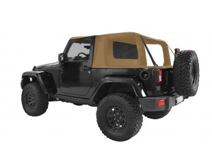 Ultimate cargo top Jeep JK 2 portes - sable