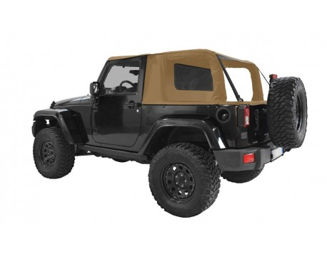Ultimate cargo top Jeep JK 2 portes - sable
