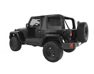 Ultimate cargo top Jeep JK 2 portes - noir