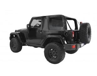 Ultimate cargo top Jeep JK 2 portes - noir