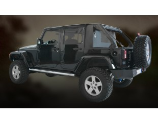 Ultimate cargo top Jeep JK 4 portes - noir