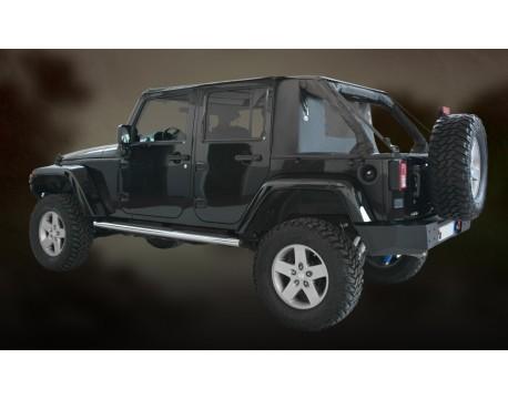 Ultimate cargo top Jeep JK 4 portes - noir